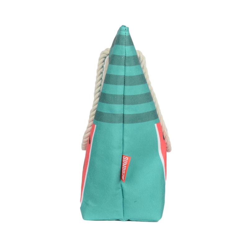 Sundaze 沙灘袋 沙灘包 超大容量單揹袋 媽媽袋 beach bag- 西瓜款