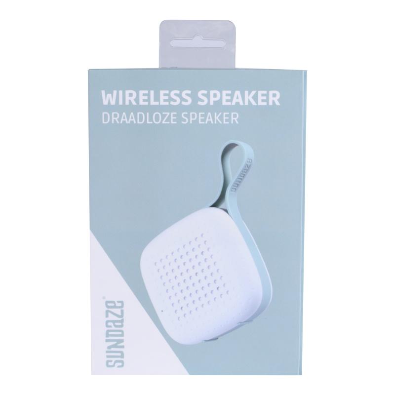 方型藍牙喇叭 藍牙音箱 可攜式揚聲器 - 白色