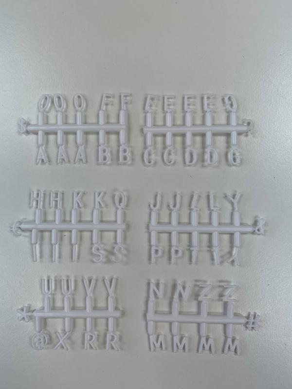 電話殻 手機殼 iphone XR 保護殼 - 插字款黑色 letterboard phonecase