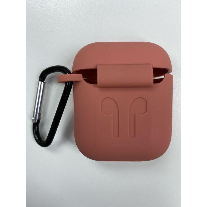 Airpods Case 藍芽耳機盒保護套 Airpods 保護套 - 粉紅色