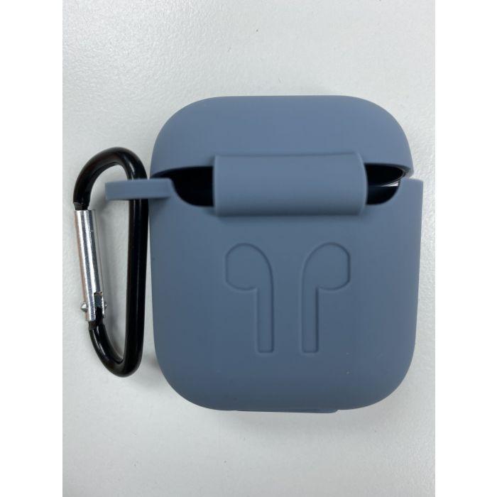 Airpods Case 藍芽耳機盒保護套 Airpods 保護套 - 灰色