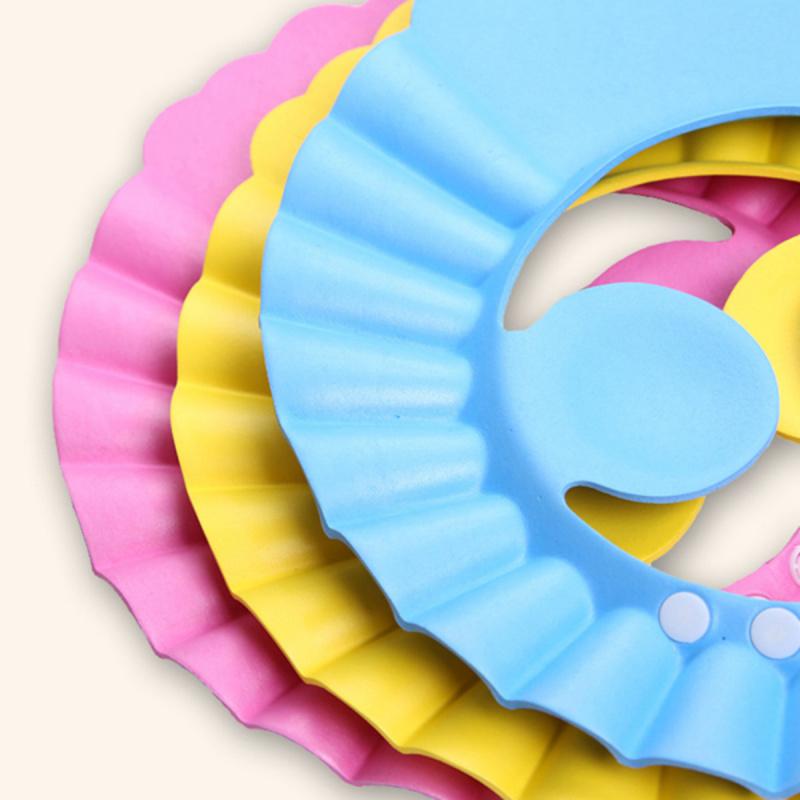 TSK - 兒童防水護耳洗頭罩
