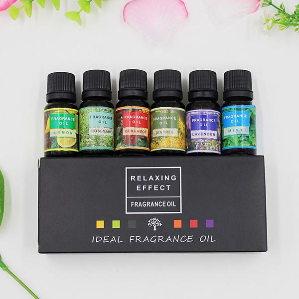 TSK - 高級香薰精油套盒(6支裝6種香味)