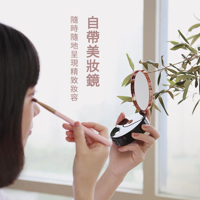 MARBLE大理石 多功能補水儀 便攜式手持納米噴霧 充電補水儀 移動電源 美妝鏡