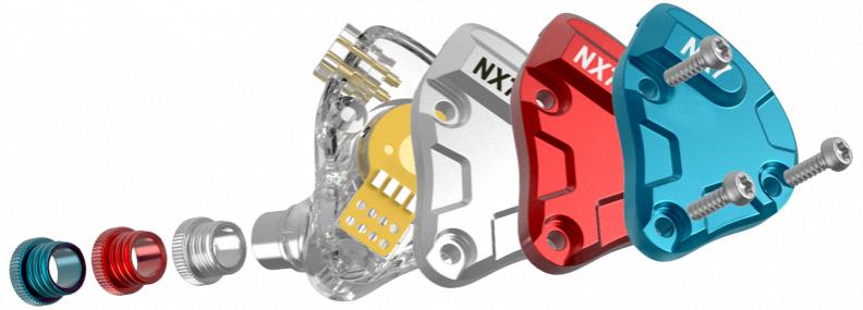 (全港免運)Nicehck NX7 PRO 4 圈鐵混合七單元耳機