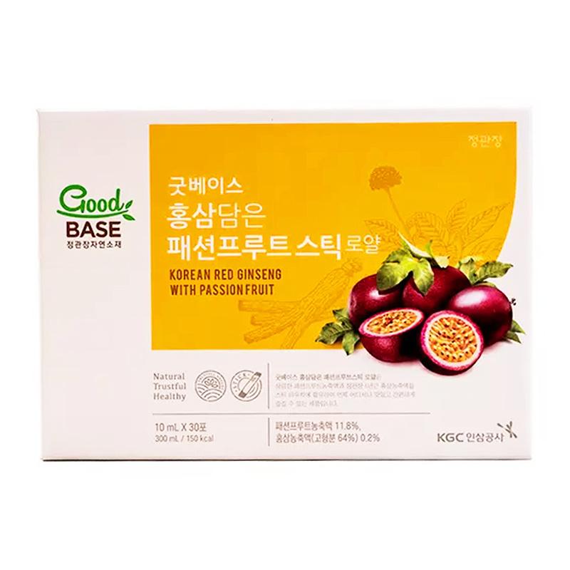 韓國正官庄 GOODBASE 百香果液禮盒裝 (30包)