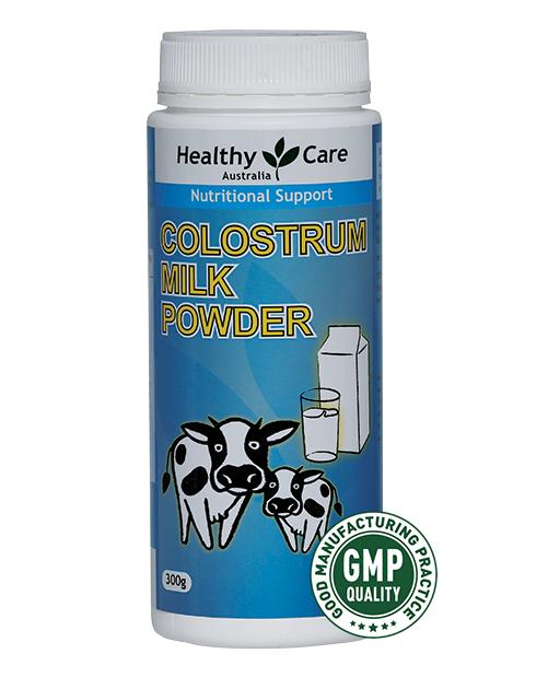 澳洲Healthy Care Colostrum 牛初乳奶粉 300g (1歲以上/成年人/孕婦食用)