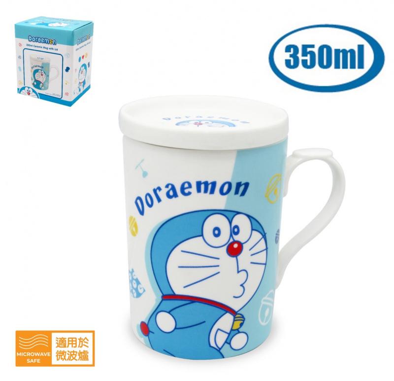 魔雪奇緣/迷你兵團/Tsum Tsum/多啦A夢陶瓷杯連蓋
