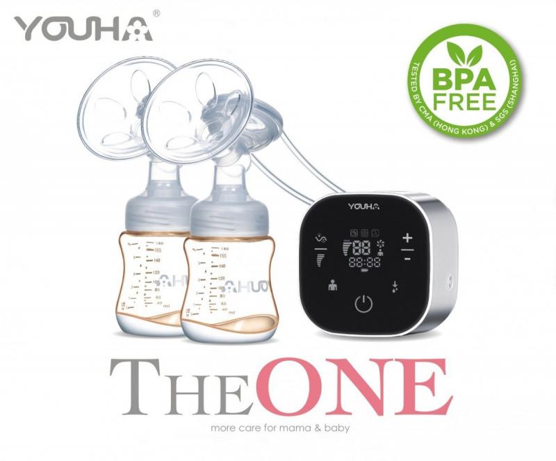 優合Youha The ONE電動奶泵+The ONE Express Cup免提喇叭 第二代