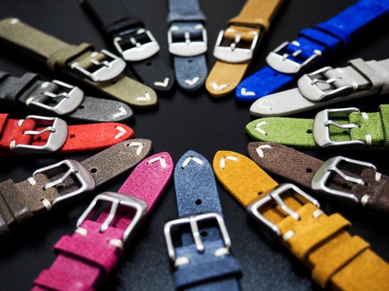 18mm 經典橙色意大利牛皮錶帶 適合Rolex, Omega, Iwc ,Tudor, Seiko
