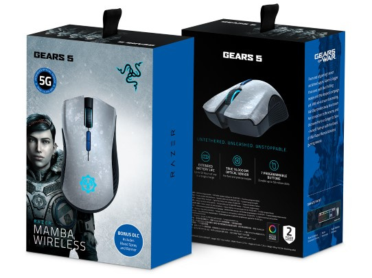 Razer Gear 5 Edition Mamba Wireless Gaming Mouse