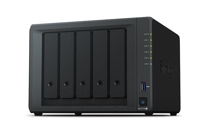 Synology DiskStation DS1019+ 漢科行貨 5-Bay NAS