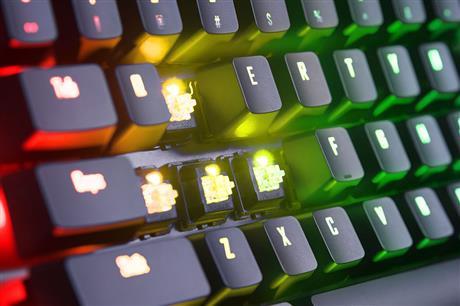 Gigabyte技嘉 GK-AORUS K9 Optical RGB fusion Gaming Keyboard