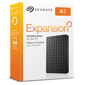 "Seagate 2.5"" Expansion Portable USB3.0 Hard Disk 外置硬碟 (1~4TB)"