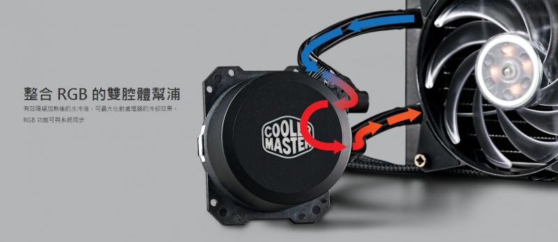 Cooler Master MasterLiquid ML240L RGB CPU Liquid Cooling