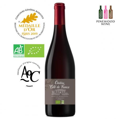 Château Côte de France 法國海濱莊園有機紅酒 AOC Côtes du Marmandais 2019 750ml