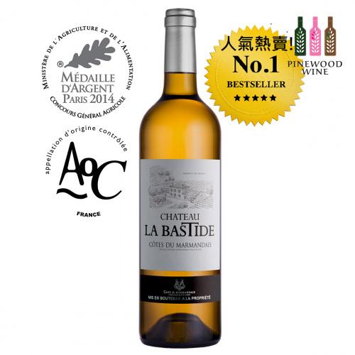 Chateau La Bastide 拉巴斯蒂特莊園白酒 Blanc, AOC Côtes du Marmandais 2019 [750ml]
