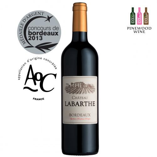 Chateau Labarthe 法國波爾多拉巴德莊園紅酒 AOC Bordeaux 2019 [750ml]