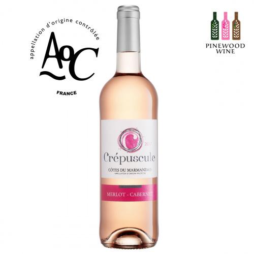 CREPUSCULE 法國暮光玫瑰紅酒-Rosé, AOC Cotes du Marmandais 2019 750ml