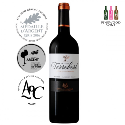 Château Terrebert 法國古樹莊園紅酒- AOC Côtes du Marmandais 2018 750ML