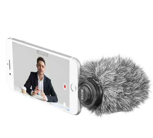 BOYA BY-DM200(Plug on microphone for iOS devices)