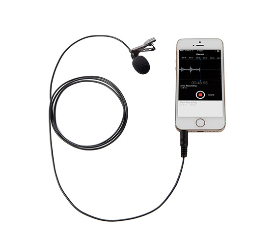 BOYA BY-LM10 (Lavalier microphone for Smartphone,Ipad)