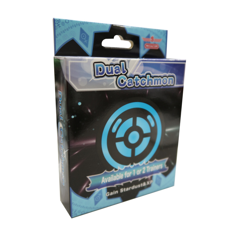 MEGACOM Pocket Dual Catchmon 抓寶夢寵物小精靈 精靈寶可夢Pokemon 黑色
