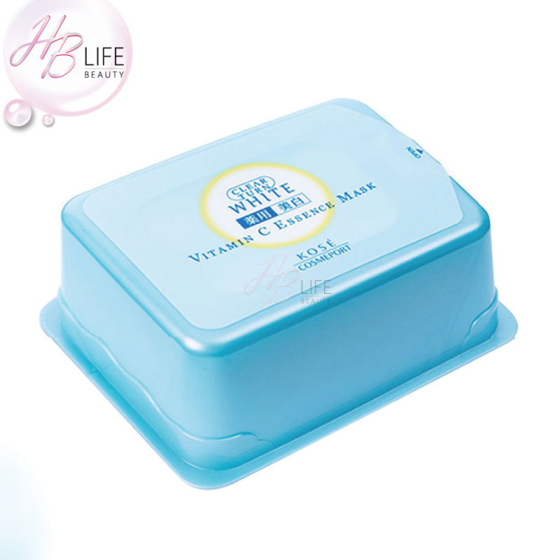 Clear Turn Vit C 精華液導入面膜(藍盒) (30片)