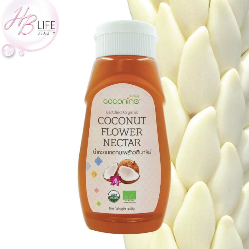 Coconine 有機椰子花蜜 膠樽裝 440克