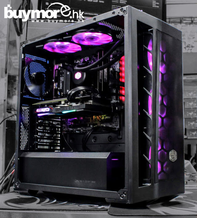 💡【Whatsapp:69696926查詢遊戲組合】 AMD Ryzen 5 3600處理器 MSI B450M MORTAR MAX主板 G.SKILL AEGIS 16G 3200記憶體 ADATA SX6000 512G NVMe SSD MSI GTX1660 SUPER 顯卡 Cooler Master MB511 機箱+ML240L