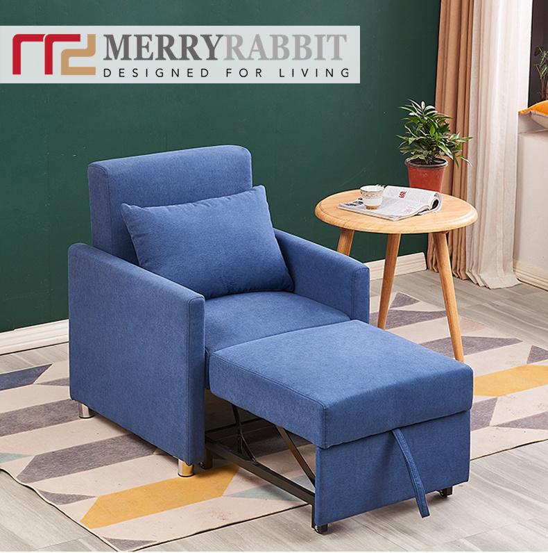 MerryRabbit MR-7296 日式多功能單人布藝梳化床 [3色]