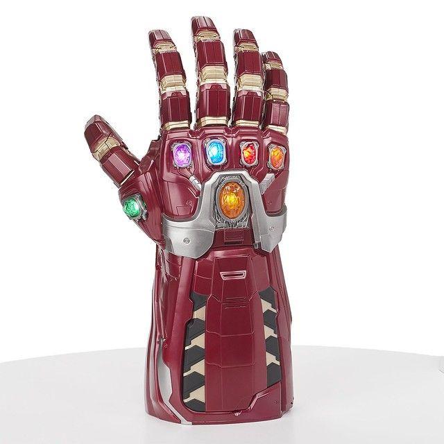 孩之寶 Marvel 復仇者聯盟:終局之戰 傳奇收藏版Iron Man電子納米手套