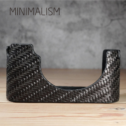 minimalism LEICA M10專用織皮半套