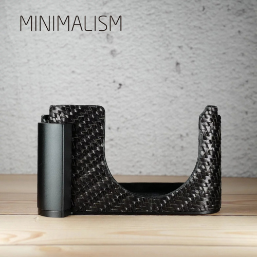 minimalism LEICA Q專用織皮半套連手柄