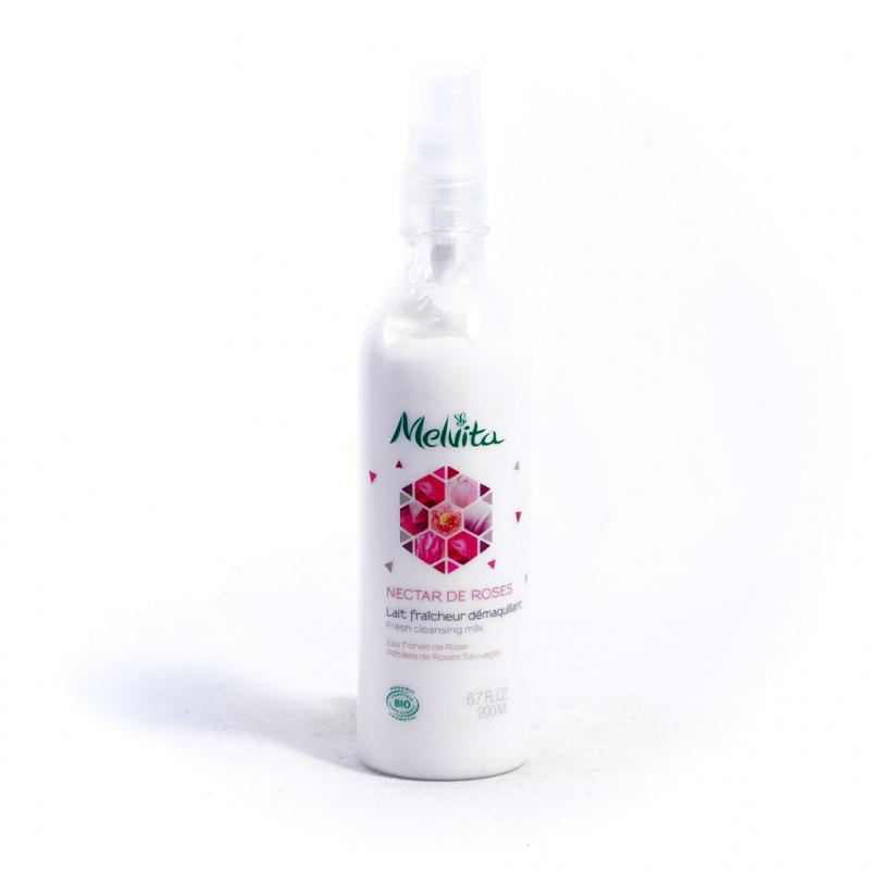 Melvita - 有機玫瑰保濕潔面乳 200ML