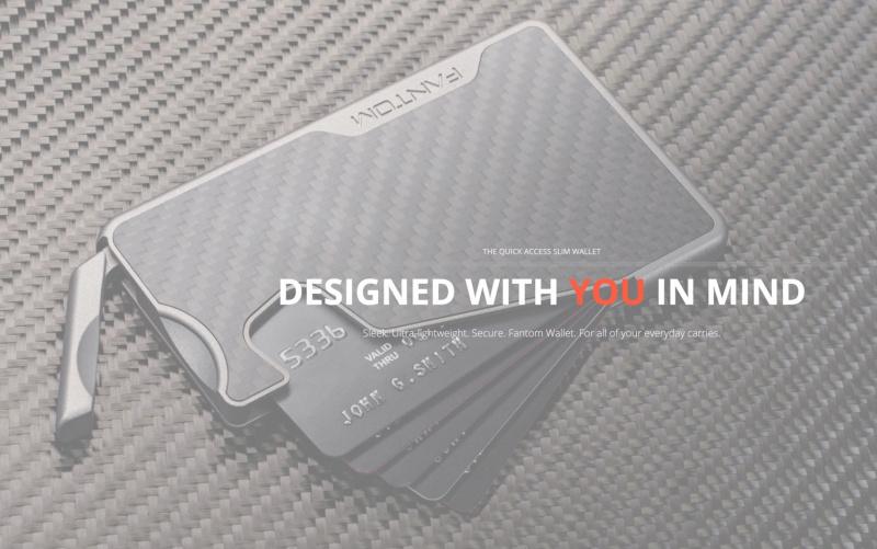 【香港行貨】FANTOM R Wallet 防盜卡片銀包7-13張卡 [4款] + 錢夾 [10色]