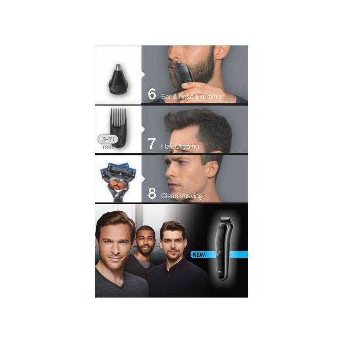 🇺🇸美國直送💥 Braun Multi Grooming MGK3060 多功能8合1剪髮剃髮鼻毛全身修剪器 (德國百靈No.1)