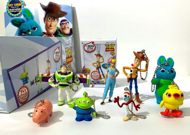 Toy Story 4 系列嘅鎖匙扣 (隨機款式)