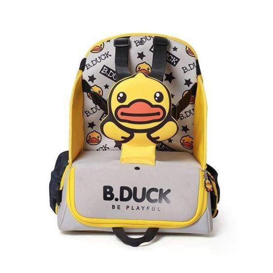 B.DUCK 正版授權BB輕便餐椅二合一包