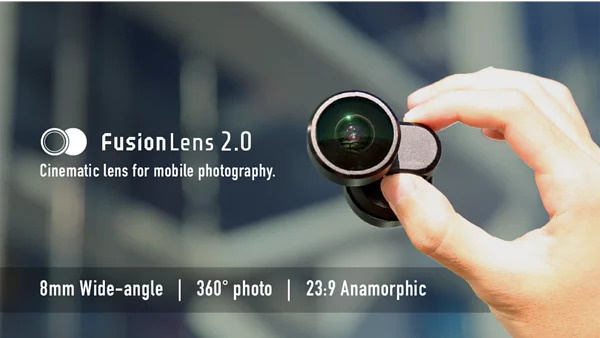 FusionLens 2.0 360全景手機鏡頭 for iPhone 11/11 Pro/11 Pro MaxX/XS/XS Max/XR