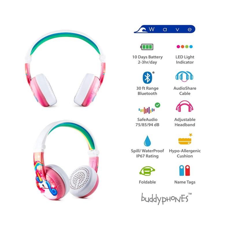 Onanoff BuddyPhones WAVE 藍牙耳機 【行貨保養】