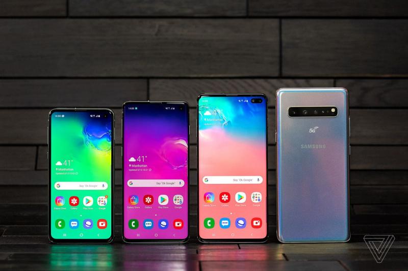 5G來臨 SAMSUNG Galaxy S10 最高配置512GB 8GB RAM+前後6鏡頭相機+6.7吋屏+4500超強電池