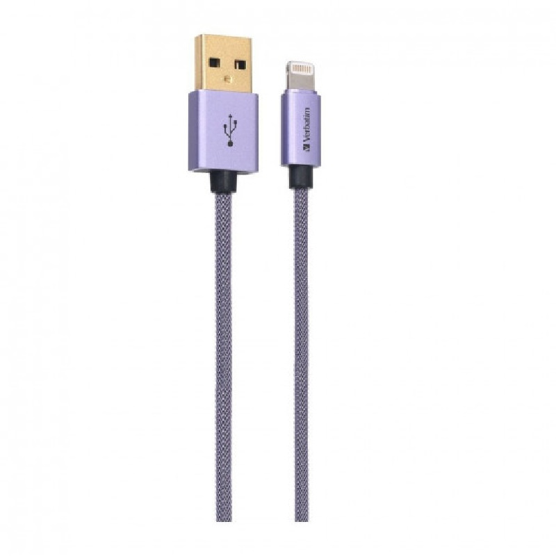 Verbatim Metallic Charge & Sync Lightning Cable1.2m 【行貨保養】