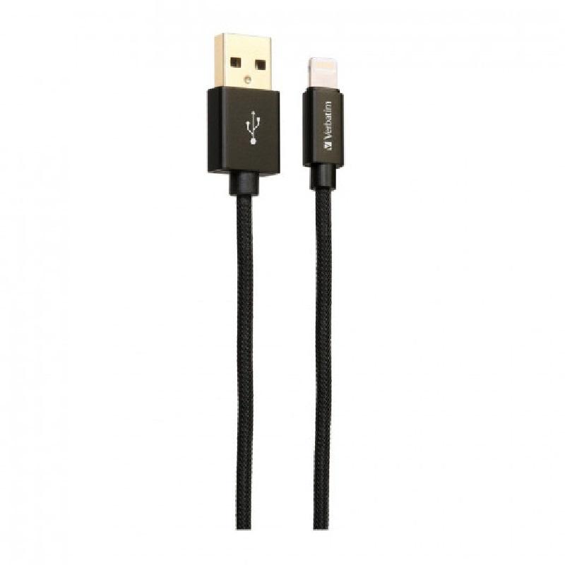 Verbatim Metallic Charge & Sync Lightning Cable1.2m 【行貨保養】