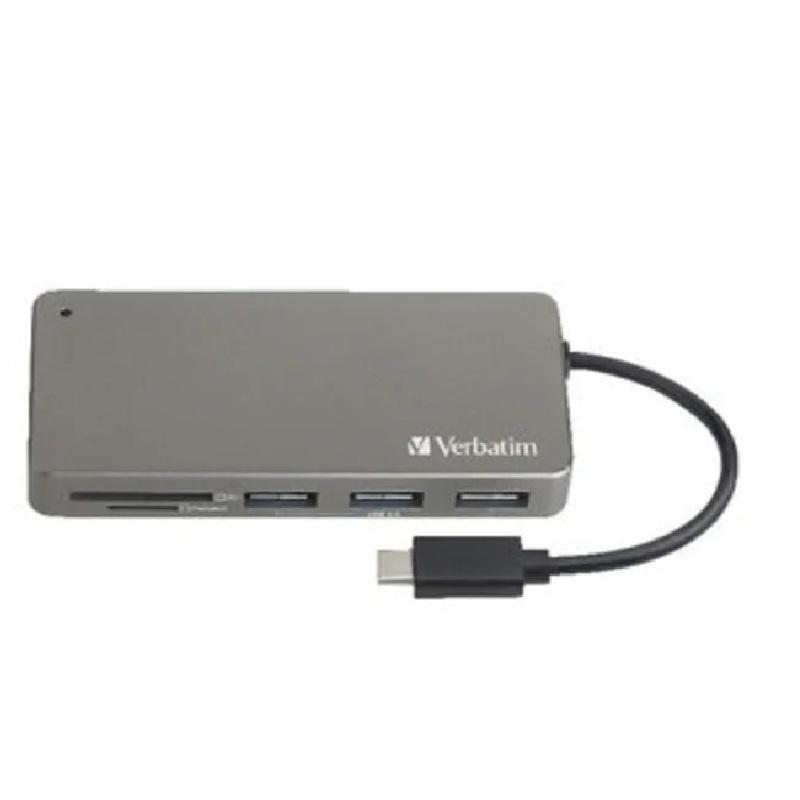 Verbatim USB-C 3.1 Hub/Card Reader 65679【行貨保養】