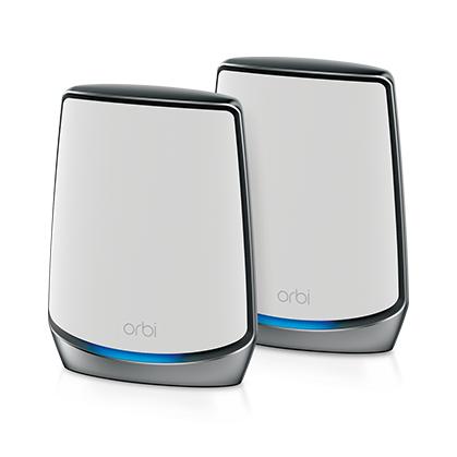 Netgear Orbi RBK852 Wireless-AX6000 MU-MIMO Tri-band Mesh WiFi System Kit (2 units)