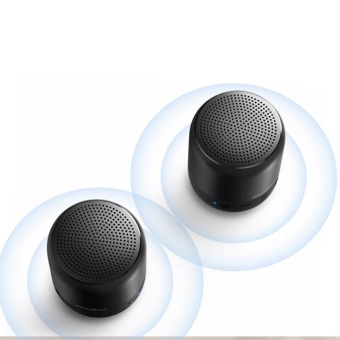 Anker SoundCore Mini 2 雙配對細小藍牙喇叭 - 孖裝
