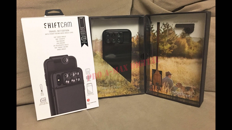 [6 in 1] Shiftcam 2.0 TRAVEL SET EDITION WITH FRONT FACING WIDE ANGLE LENS IPHONE IPHONE [7 8plus / X / XR / XS / xs Max]