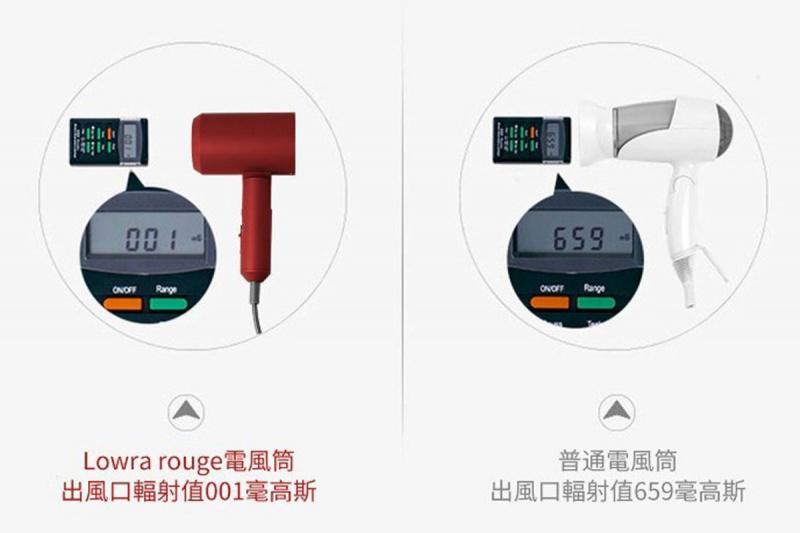 Lowra rouge 日本低輻射負離子潤髮風筒[CL202]