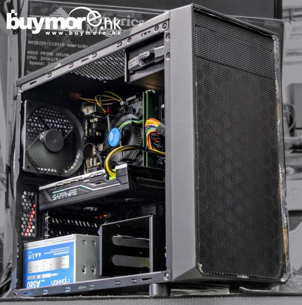 💡【Whatsapp:69696926網上落單】 Intel Core i5-9400F 處理器 GIGABYTE GA-H310M S2H主板 ADATA Premier DDR4 2666MHz 8GB 記憶體 KINGSTON A2000 250G NVMe SSD FRACTAL DESIGN FOCUS I MINI機箱 SAPPHIRE RX570 4G顯卡